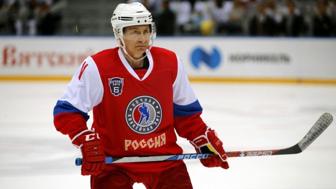 Vladimir Putin is having a late career resurgence—in the hockey rink