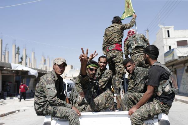 U.S.-backed Syrian militia close to full capture of al-Tabqah