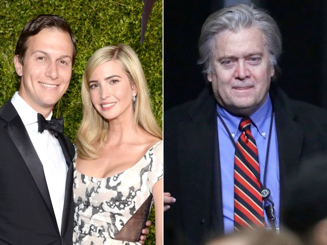 Inside Steve Bannon's Removal: Ivanka Trump and Jared Kushner 'Helped Push' Him Out of White House