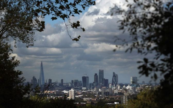 London ranked the most prosperous spot in the UK, but its growth is slowing against other regions