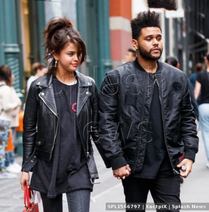 Selena Gomez & The Weeknd Wore Matching Outfits on a Date in New York
