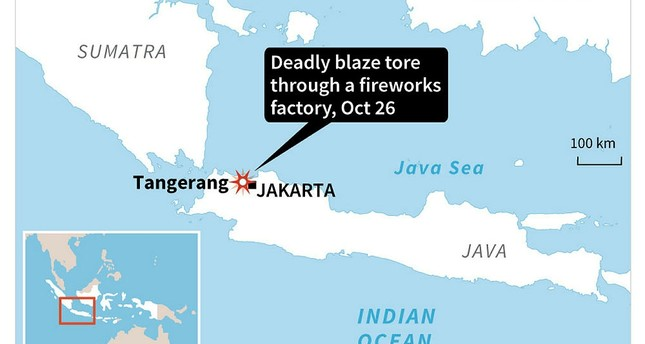 Indonesia fireworks factory explosion kills at least 10