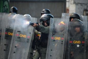 Iceland Blocks Shipment of Venezuela-bound Tear Gas