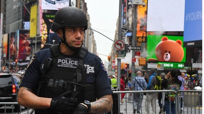 New York City: 'Islamic State attack plot' is revealed