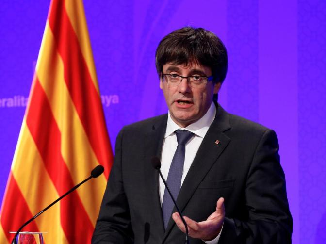 Catalan leader Carles Puigdemont has fled the country amid rebellion charges