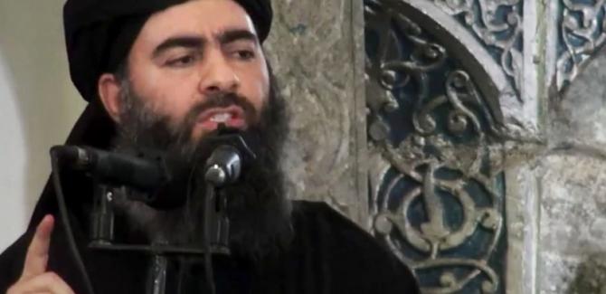 Al-Baghdadi is being Held Captive by US