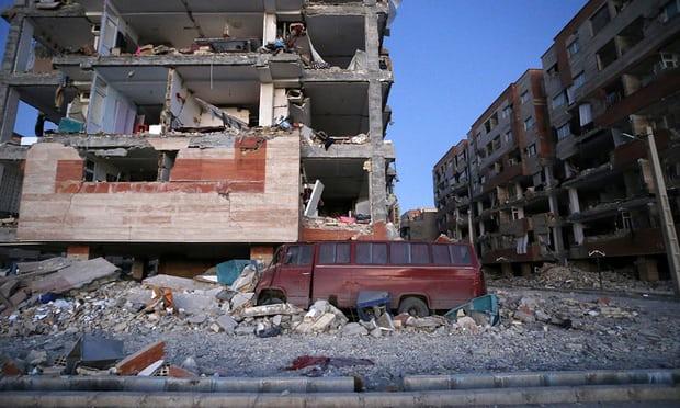 Iran-Iraq earthquake: death toll climbs to 348