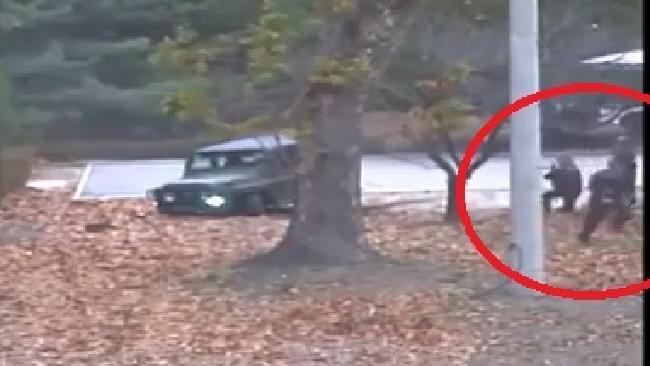 North Korean defector's daring escape caught on video