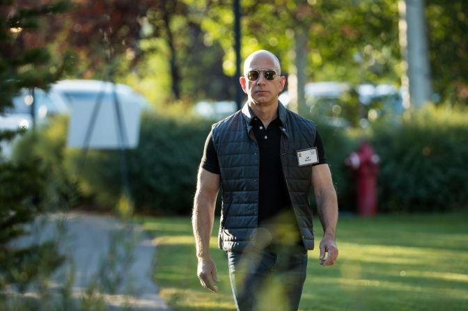Jeff Bezos' net worth surpasses 100 billion dollars