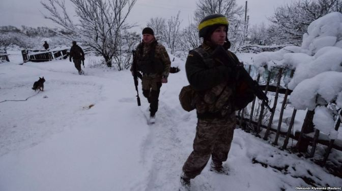Ukraine Says Five Soldiers Killed, Four Wounded In East