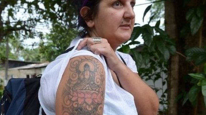 Buddha tattoo woman Naomi Coleman wins compensation