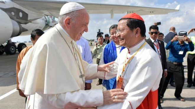Pope set for key Myanmar speech and meeting with Aung San Suu Kyi