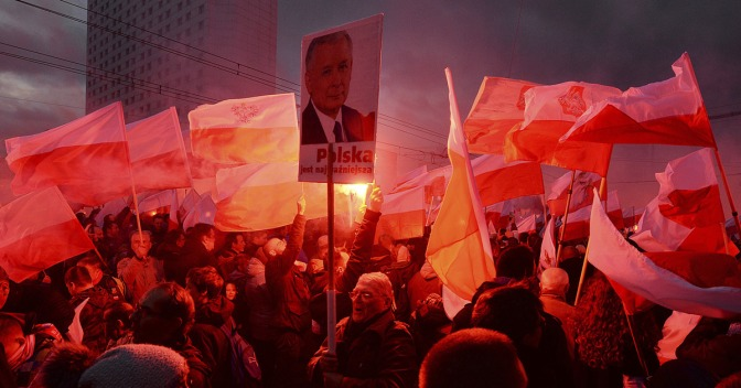 Poland defends massive far-right protest that called for a 'White Europe'