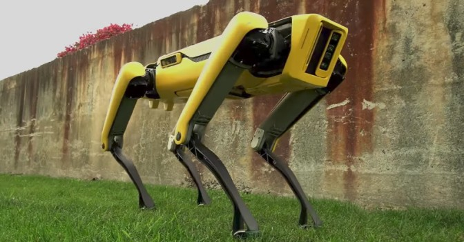 Boston Dynamics' latest robot dog is slightly less terrifying