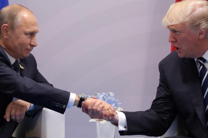 Kremlin says 'logical' that Putin, Trump will talk at Vietnam summit