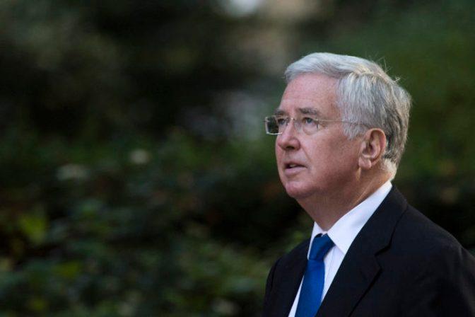 UK defense secretary resigns