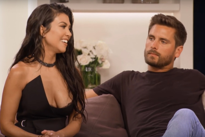 Kourtney Kardashian and Scott Disick Discuss Possibly Getting Married at 40
