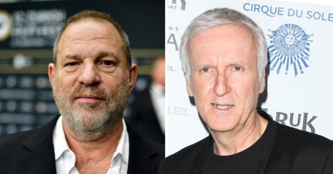 James Cameron: 'I almost got into a fight with Harvey Weinstein at the Oscars'