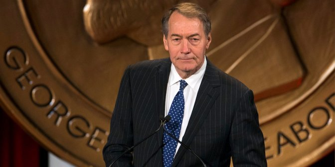Charlie Rose fired from CBS following sexual-misconduct allegations