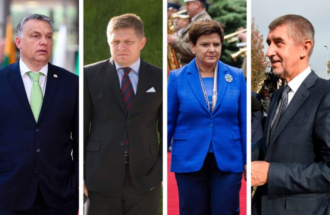 Visegrad 4 cools on Europe, and each other