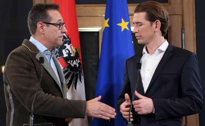 Austrian far-right to return to coalition under conservative Sebastian Kurz