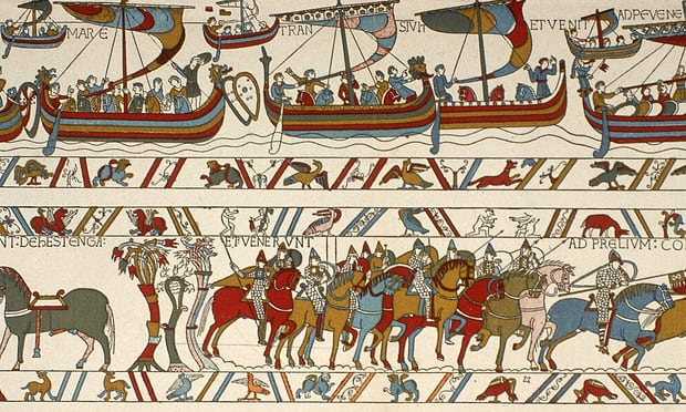 Emmanuel Macron 'agrees to loan Bayeux Tapestry to Britain'