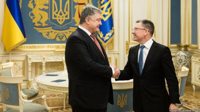 Poroshenko, Volker Hold Talks On Ukraine Conflict