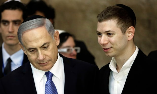 Netanyahu son bragged about gas deal outside strip club, tape reveals