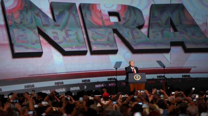 FBI investigating whether Russian money went to NRA to help Trump