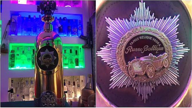 'World's most expensive vodka' stolen from Copenhagen collection