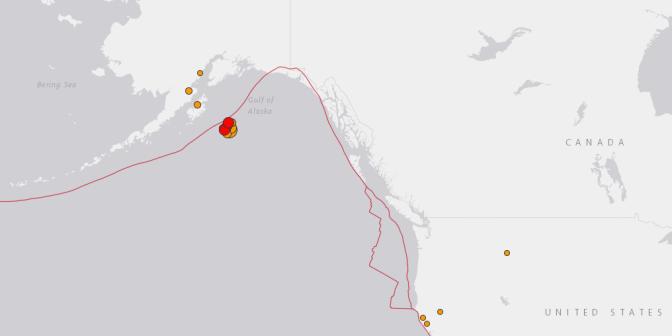 Alaskans evacuate after 7.9-magnitude earthquake prompts widespread tsunami alert