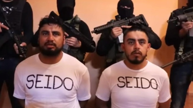 Mexico: Chilling video allegedly shows agents held by cartel