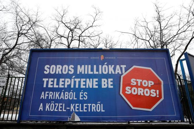 Hungary submits anti-immigration 'Stop Soros' bill to parliament