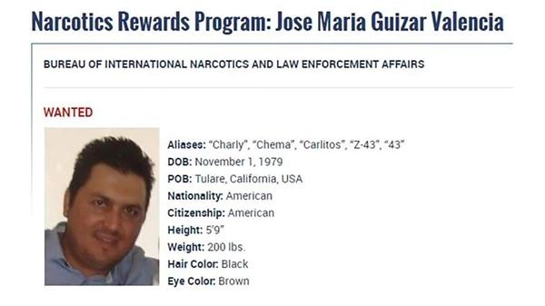 Mexico nabs Zetas cartel leader Jose Maria Guizar Valencia