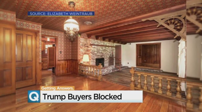Sacramento Home For Sale, But Not To Trump Supporters